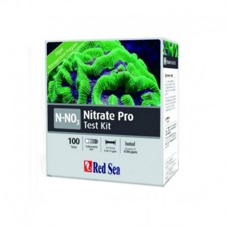 RED SEA Kit test Triator Nitrato Pro (NO3)-(100 Test)