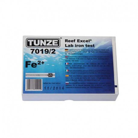 TUNZE REEF EXCEL LAB IRON TEST